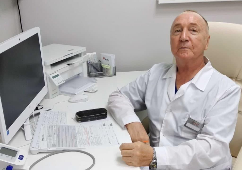 Нечаев О.Н., хирург со стажем работы 16 лет